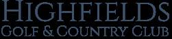 highfields golf logo
